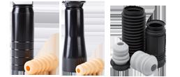 Protege a haste do amortecedor contra corrosão, poeira e impacto de agentes externos.