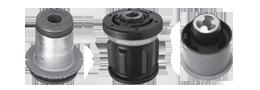 As buchas Monroe Axios permitem a flexibilidade dos componentes da suspensão. Elas são determinantes para eliminar o ruído do contato metálico e absorver os impactos e vibrações.
