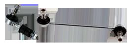 É um tirante que liga a barra estabilizadora a partes da suspensão do veículo, proporcionando maior controle de inclinação do carro em curvas e terrenos desnivelados.