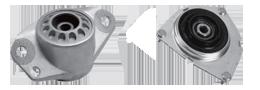 Ponto de fixação para o conjunto do amortecedor, os coxins reduzem ruídos e as vibrações, evitando que eles sejam sentidos na carroceria do veículo.